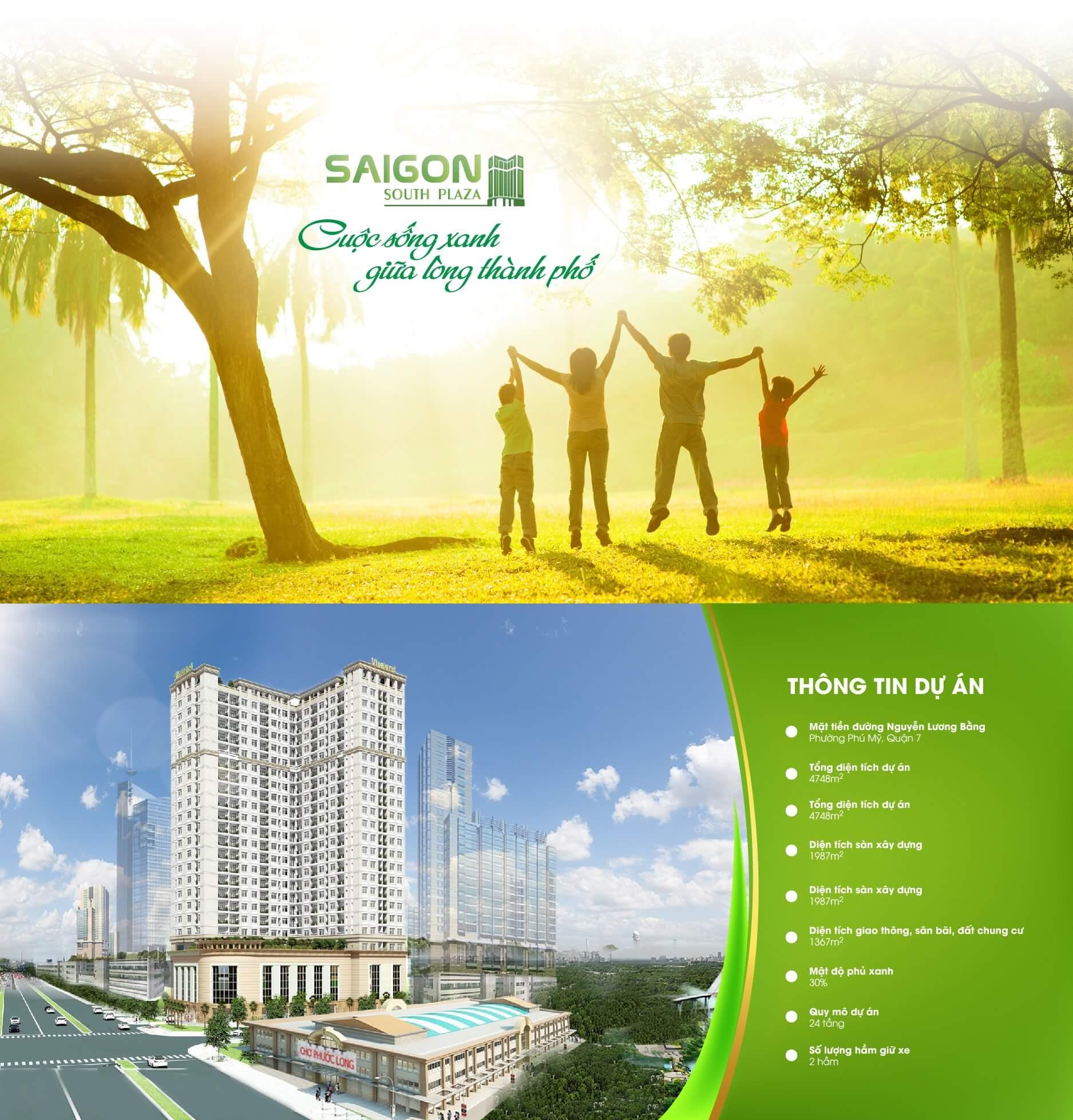 Tổng quan căn hộ Saigon South Plaza