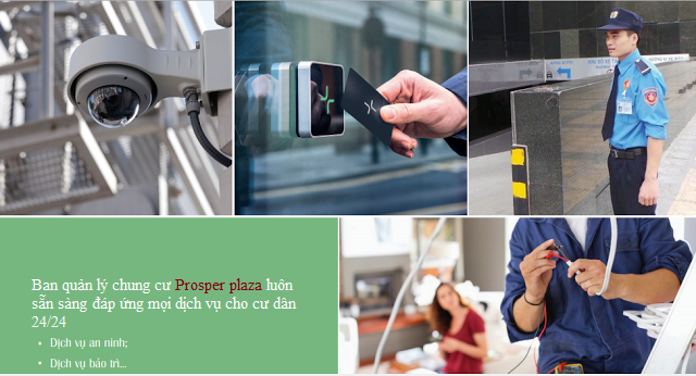 Độ an toàn tuyệt đối của căn hộ Prosper Plaza