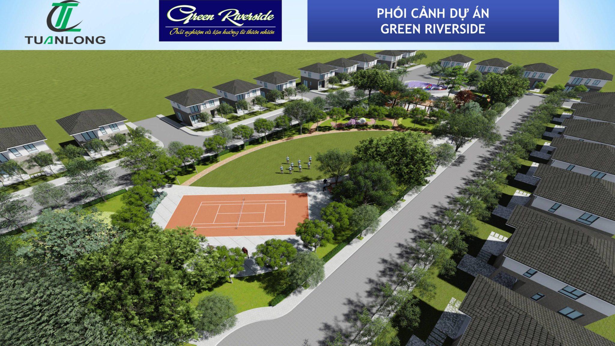 Dự án Green Riverside Nhà Bè Đất nền Huỳnh Tấn Phát