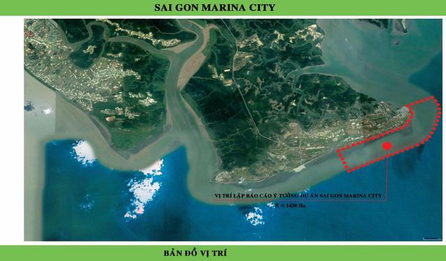 Dự án Marina City Sài Gón New City của chủ đầu tư Tuần Châu