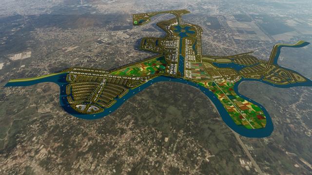 Vị Trí Dự án Sài Gón New City của chủ đầu tư Tuần Châu 4