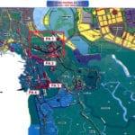 Cầu Cần Giờ mới nối dài đường Nguyễn Lương Bằng 15B-Nhà Bè-đường Rừng Sạc Cần Giờ