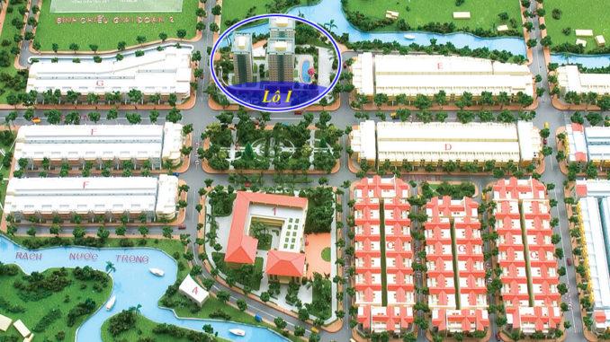 Vị trí căn hộ S-home Bình Chiểu