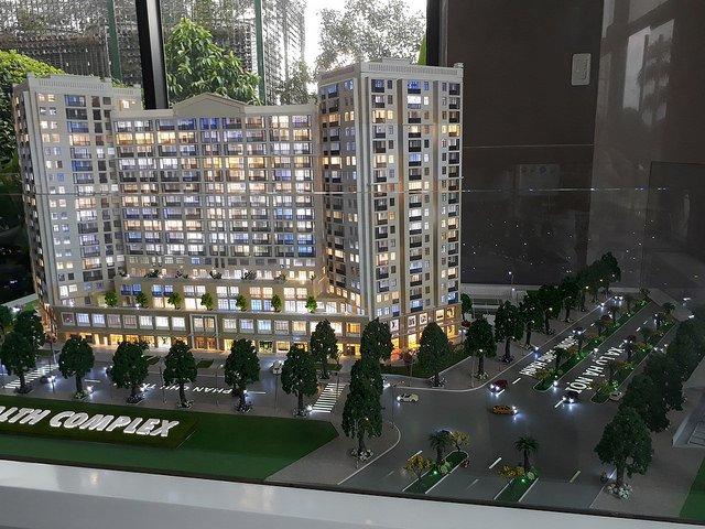 Mô hình dự án căn hộ Centum Wealth