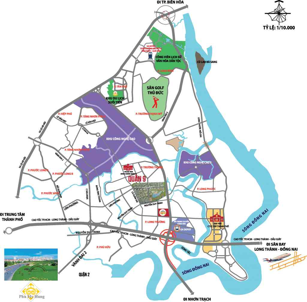 Vị Trí Đất nền Trường Lưu Quận 9