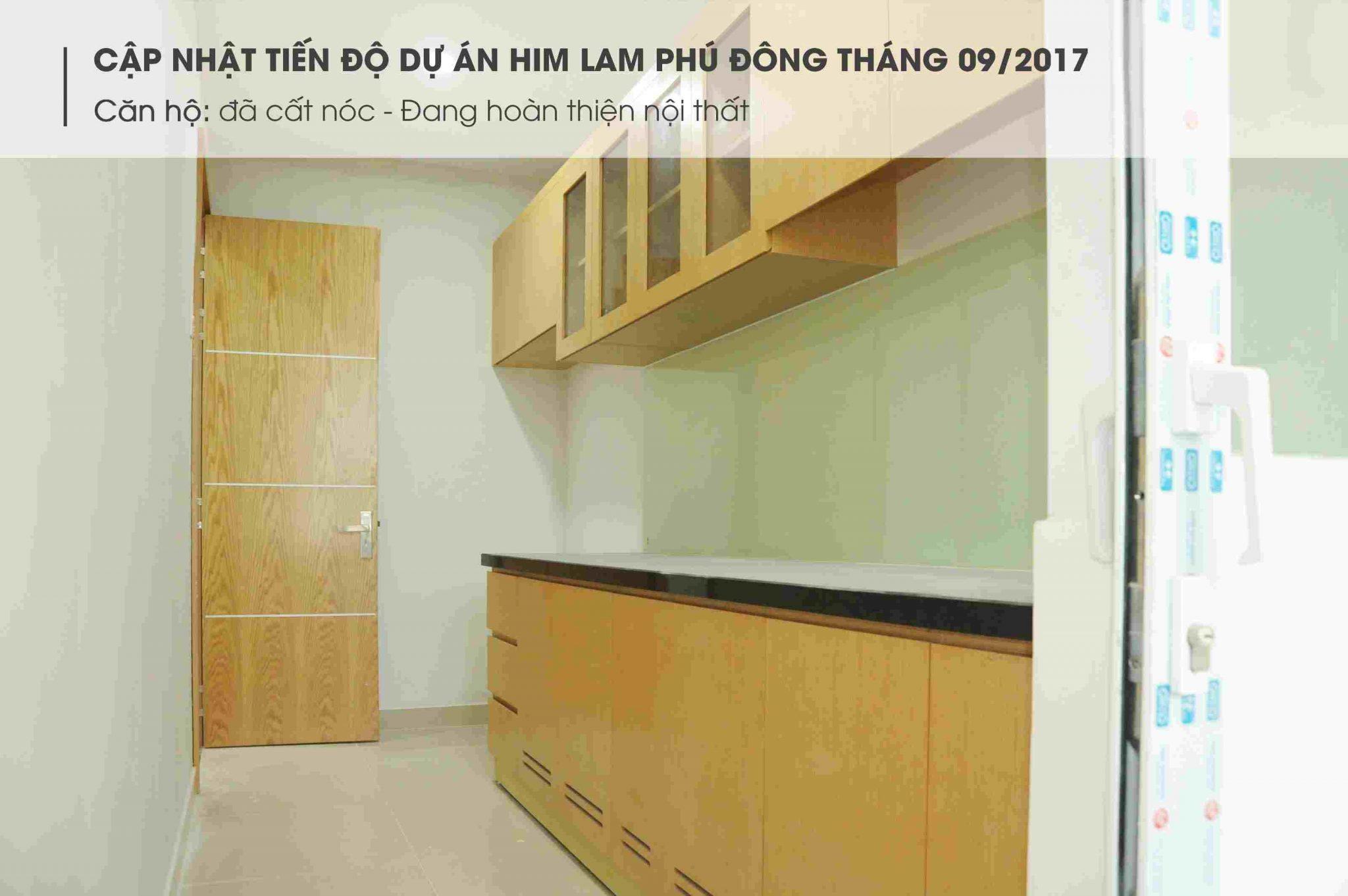 Tiến độ dự án căn hộ Him Lam Phú Đông