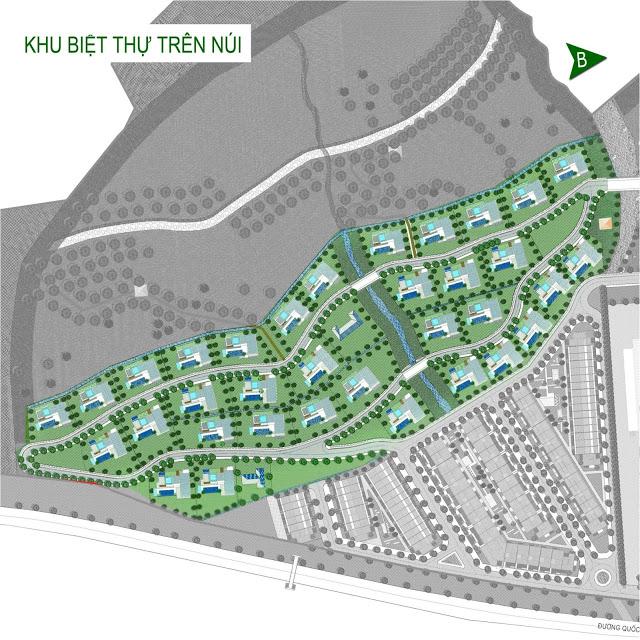 Biệt thự trên núi Green Home Quy Nhơn