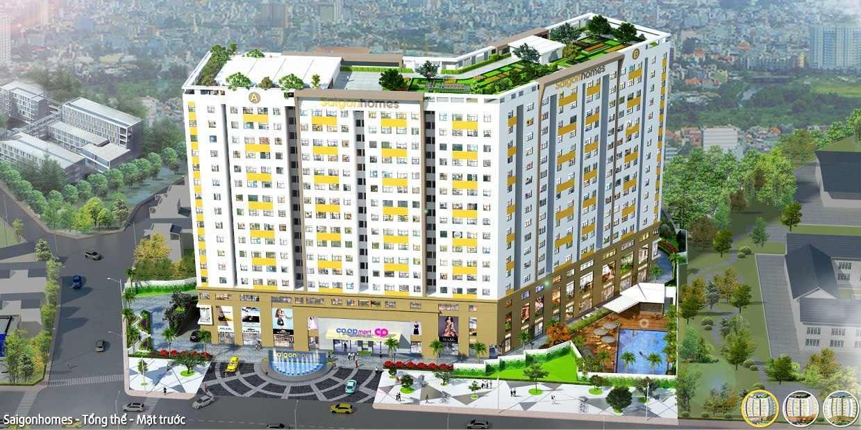 Dự án căn hộ Saigon Homes Bình Tân