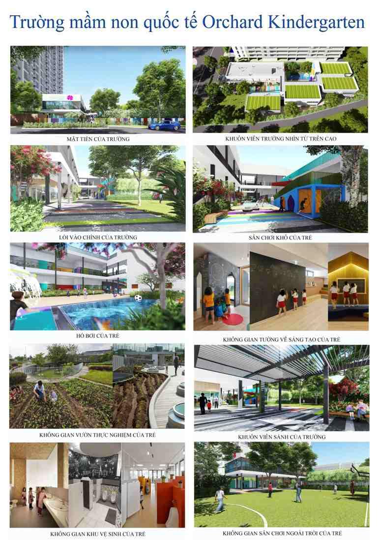 Tiện ích dự án căn hộ Him Lam Phú Đông