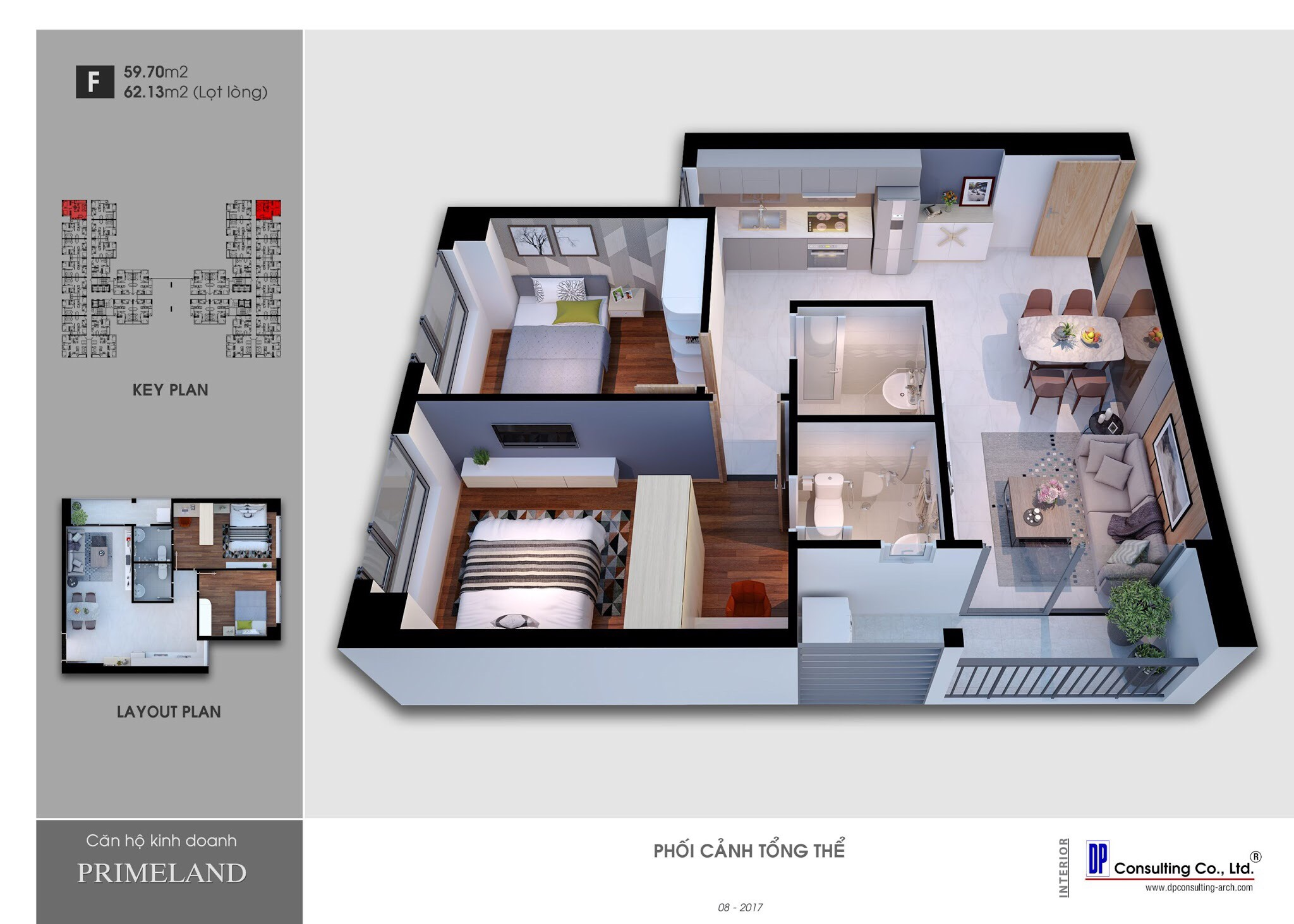 Thiết kế căn hộ saigon avenue