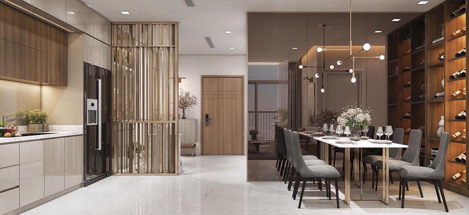 Phòng khách Saigon Riverside City