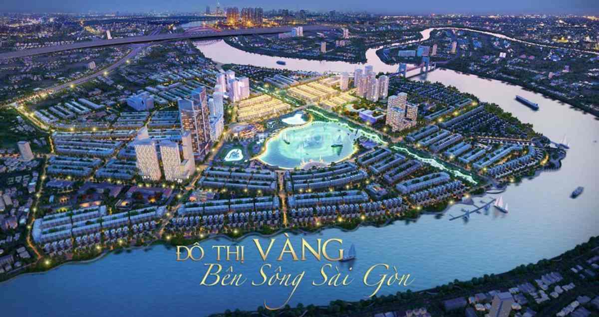 Tổng thể dự án căn hộ Saigon Riverside Thủ Đức