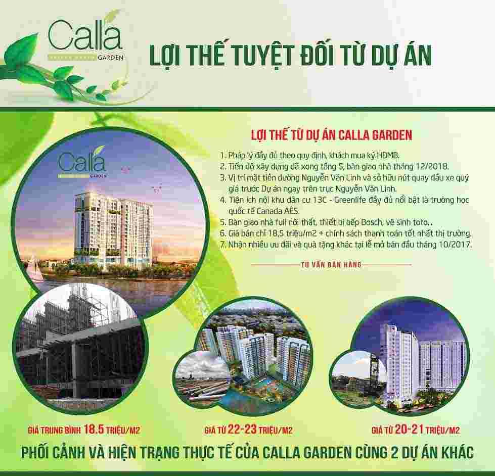 Dự án căn hộ Calla Garden Bình Chánh