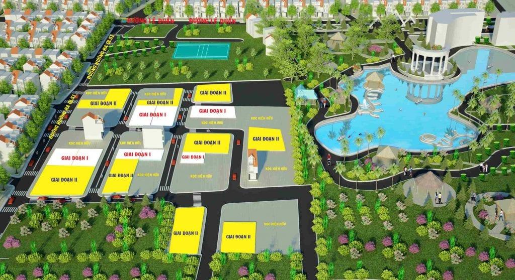 Thiết kế dự án đất nền Lakeside Long Thành