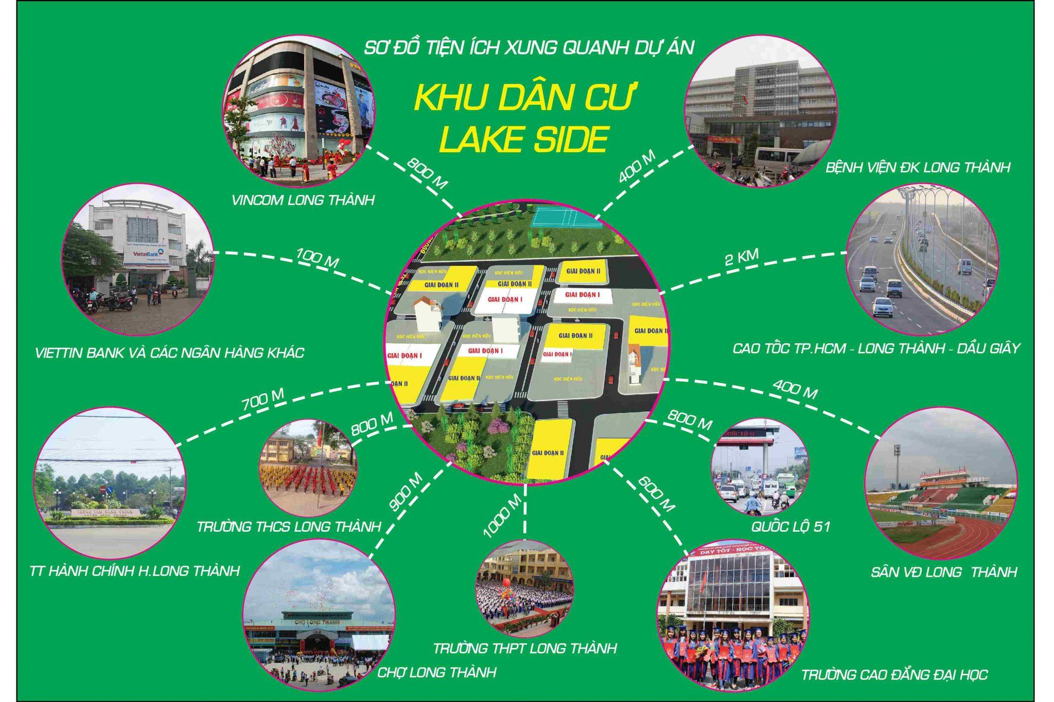 dự án đất nền Lakeside Long Thành