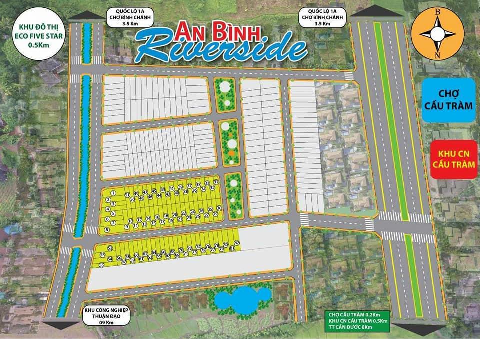 Sơ đồ dự án An Bình Riverside Long An