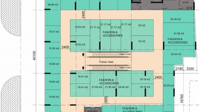 tầng thương mại 2 Four Square