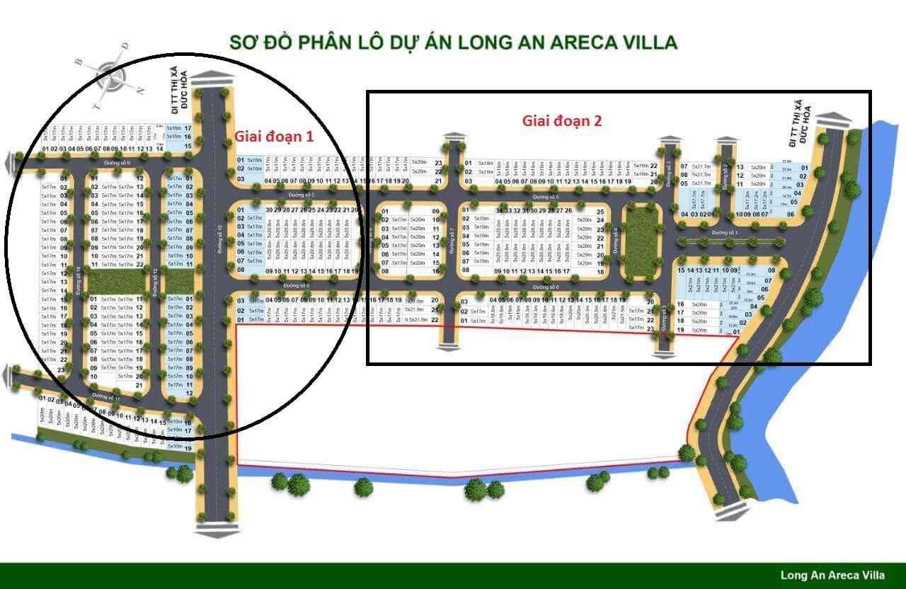 Areca villa giai đoạn 2