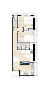 Thiết kế căn hộ Roxana Plaza