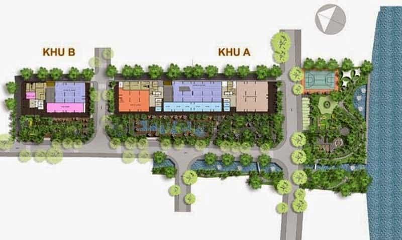 Thiết kế căn hộ Opal City Q9