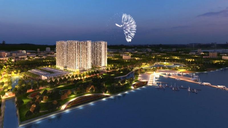 Q7 Saigon Riverside Complex bên dòng sông Sài Gòn thơ mộng