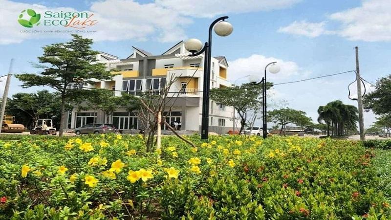Cơ sở hạ tầng Saigon Eco Lake 1