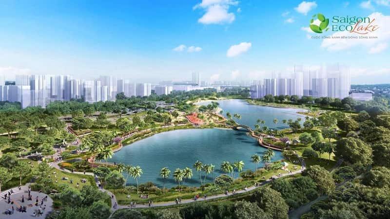 Hồ cảnh quan Saigon Eco Lake min