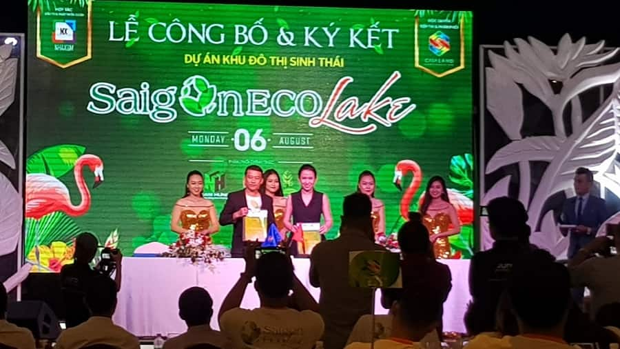 Lễ ký kết Saigon Eco Lake