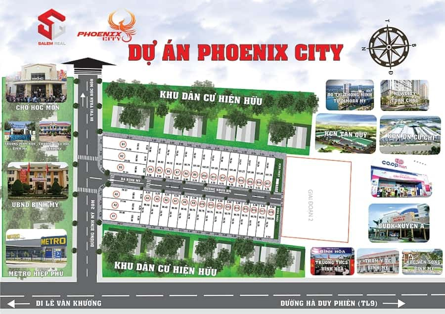 Đất nền Phoenix City