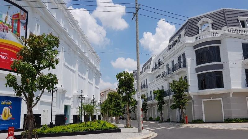 Nhà phố Central Residence