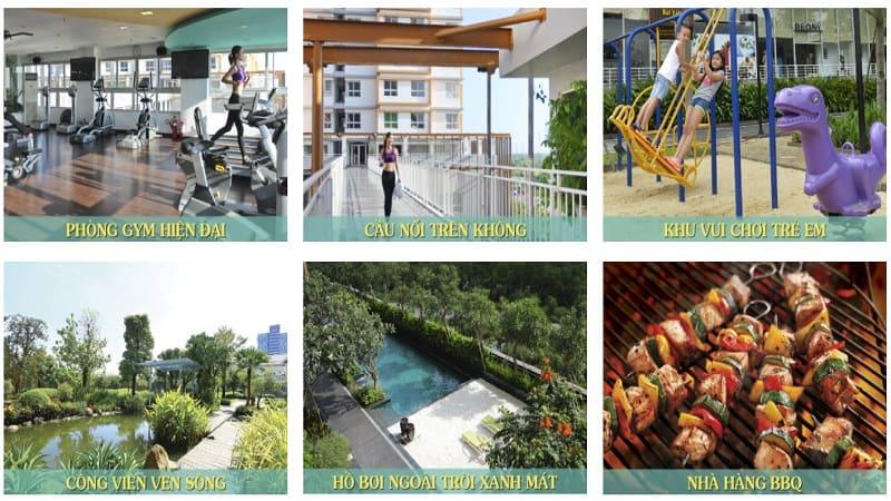 Tiện ích dự án Goldora Plaza