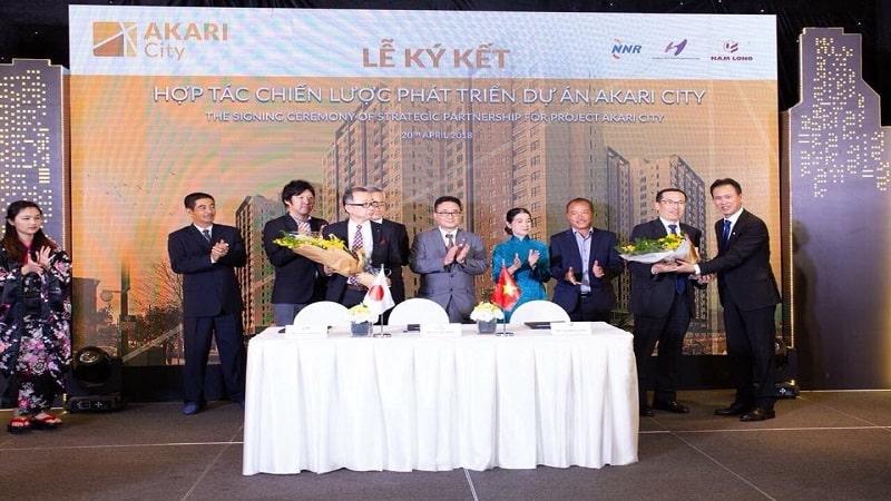 Lễ ký kết dự án Akari City