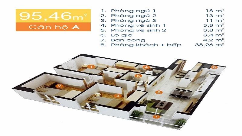 Thiết kế căn hộ Huỳnh Tấn Phát
