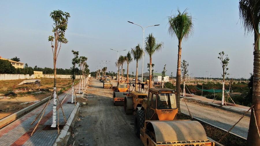 tiến độ dự án lago centro 2020