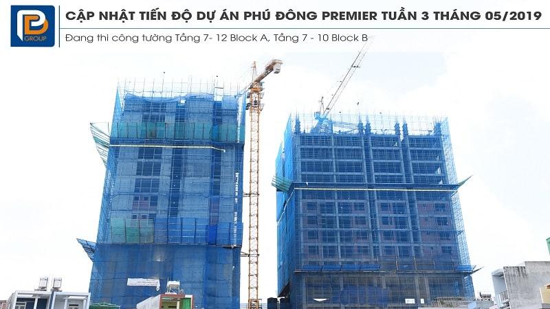 Tiến độ dự án Phú Đông Premier min