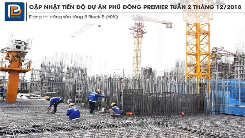 Tiến độ Phú Đông Premier