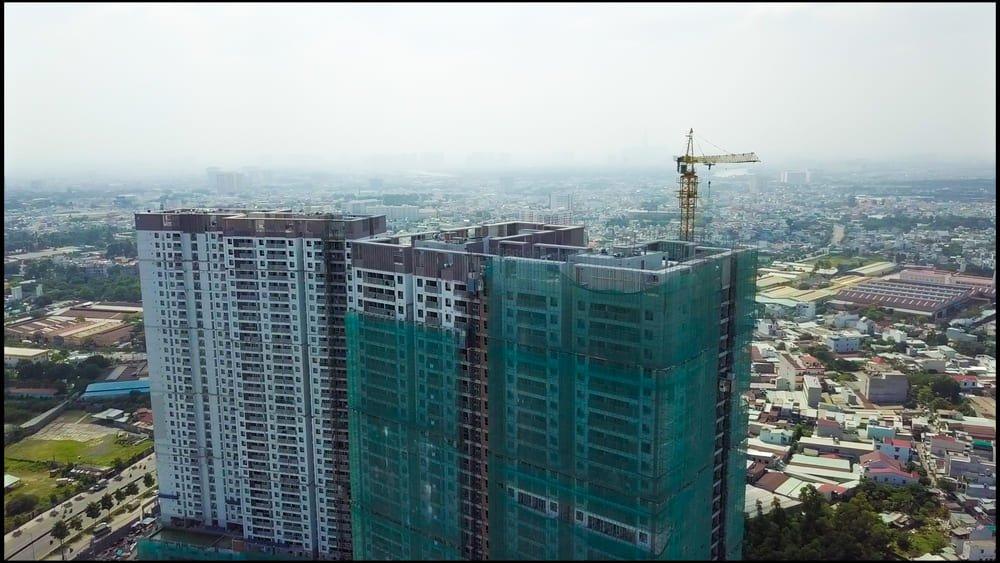 tiến độ dự án căn hộ Opal Boulevard