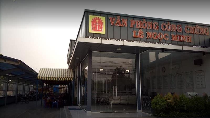 Phòng công chứng Lê Ngọc Minh