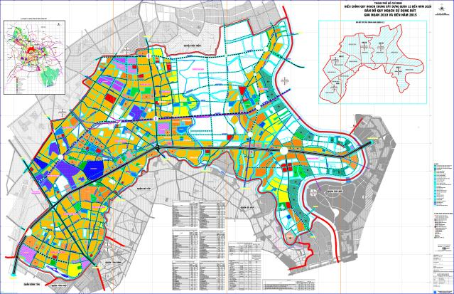Quy hoạch chung quận 12