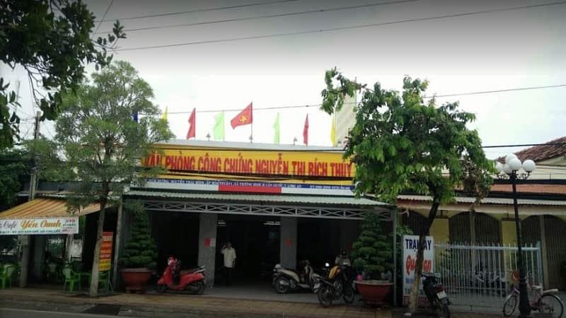 Văn phòng công chứng Nguyễn Thị Bích Thuỷ