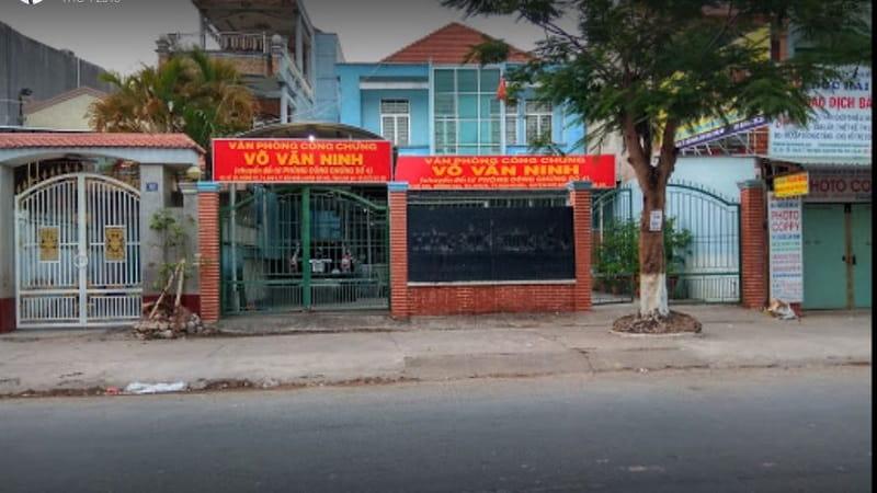Văn phòng công chứng Võ Văn Ninh