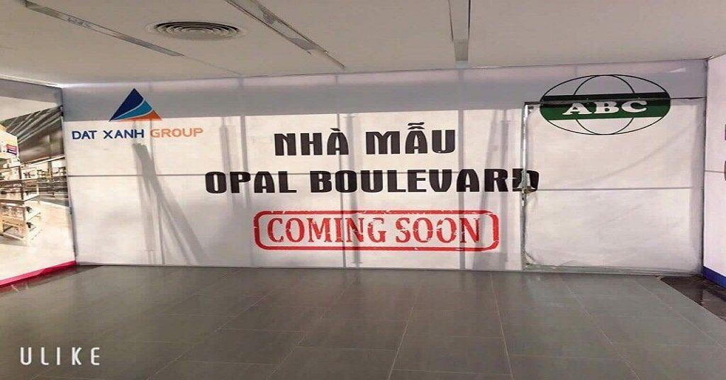 công bố dự án căn hộ opal boulevard