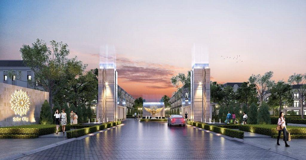 dự án solar city