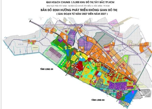 Quy hoạch Khu đô thị Tây Bắc Củ Chi