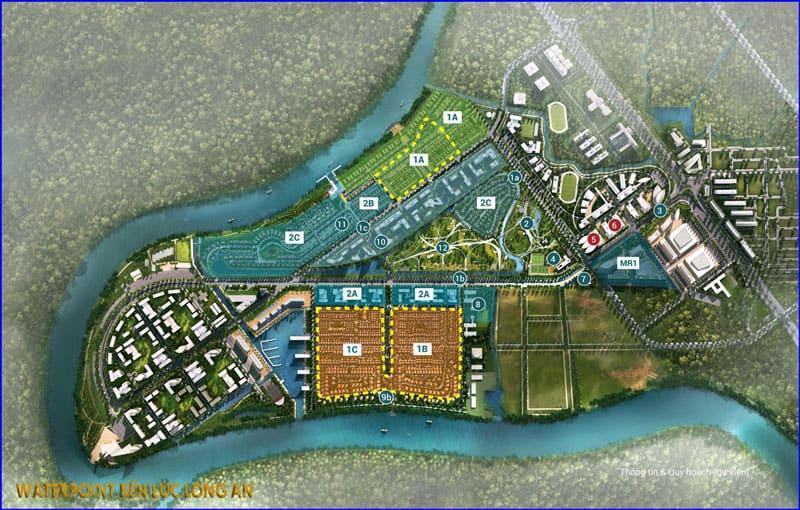 Thiết kế dự án Waterpoint Bến Lức