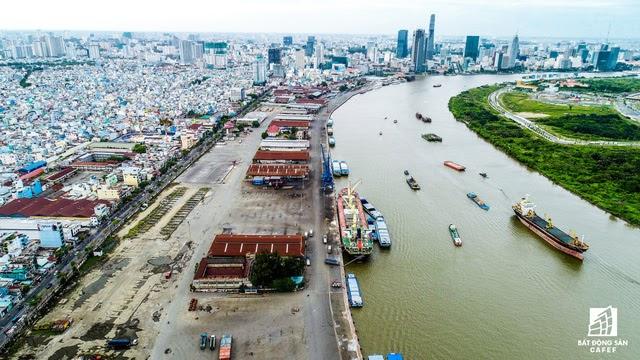 Khu đô thị cảng Khánh Hội Quận 4 đã giải tỏa xong mặt bằng