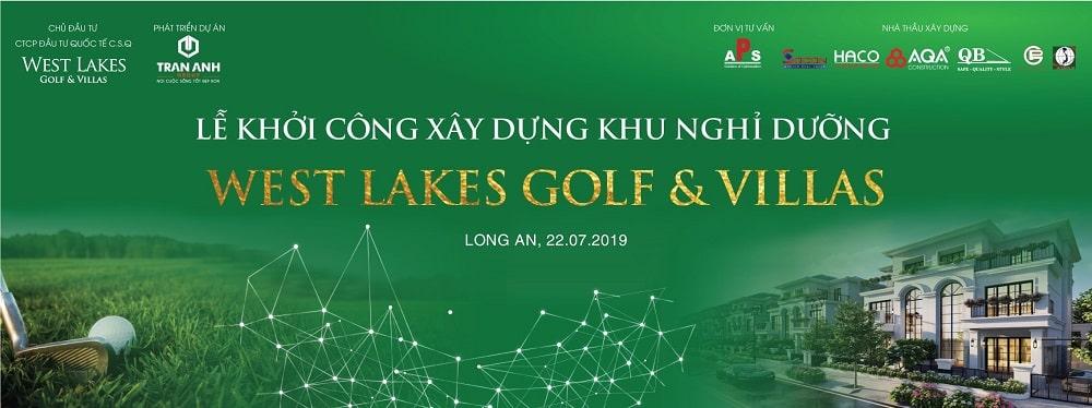 Công bố dự án West Lakes Golf Villa