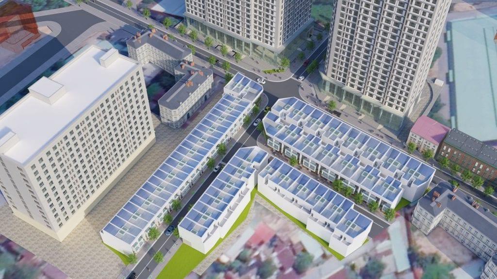 Phoi canh nha pho Alva Plaza 1