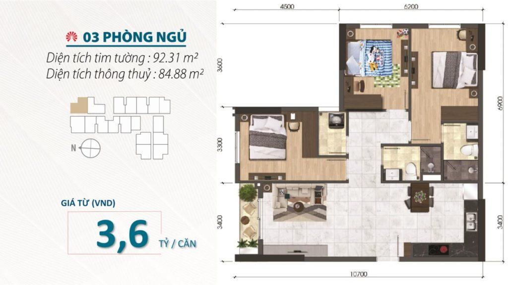 Saigon Asiana 3PN