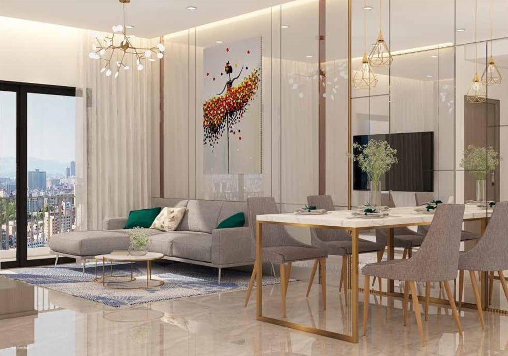 Saigon Asiana phòng khách